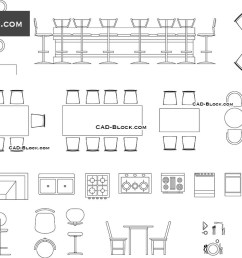 bar furniture cad blocks autocad file [ 1080 x 760 Pixel ]