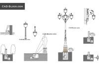 Pendant Light Fixture Cad Block - Light Fixtures