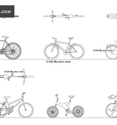 bikes download free cad block [ 1080 x 760 Pixel ]