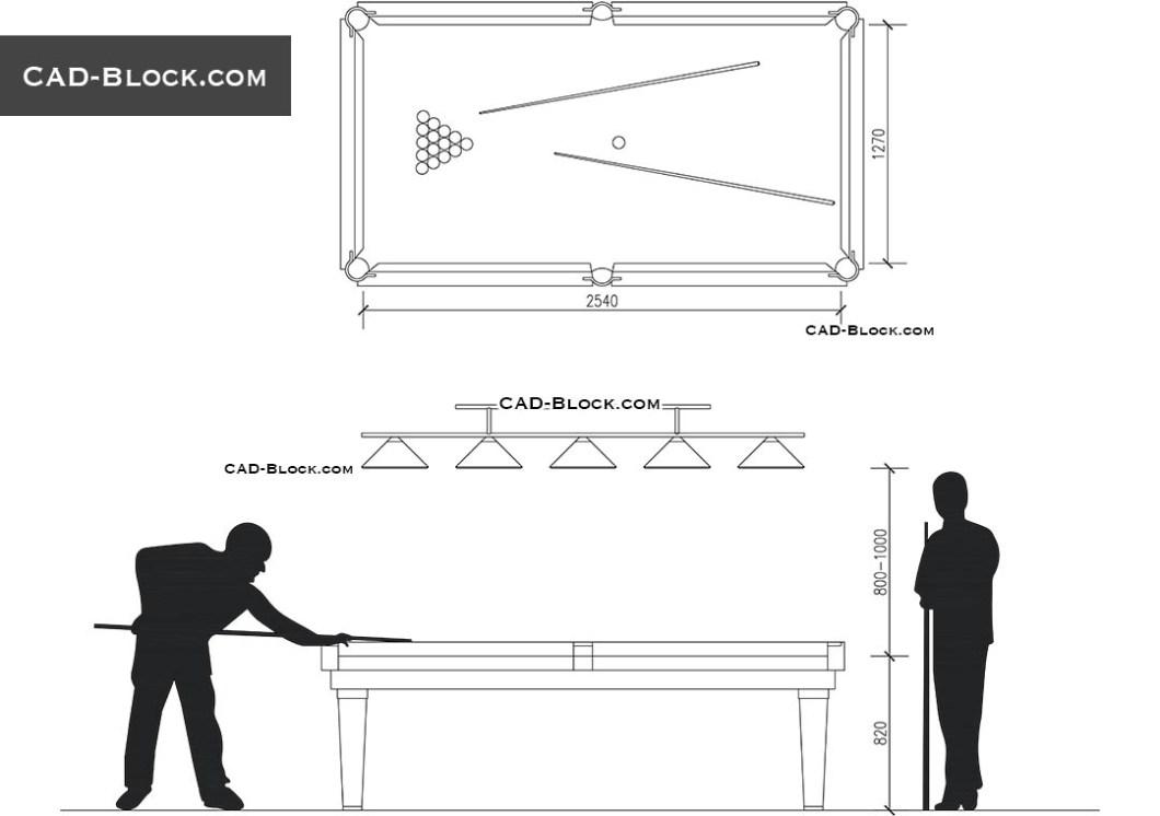 Pool Table Drawings Free | Wallseat co