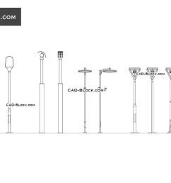 street lighting download free cad block [ 1080 x 760 Pixel ]