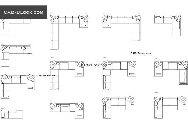 Sofa Cad Block 2d Www Stkittsvilla Com