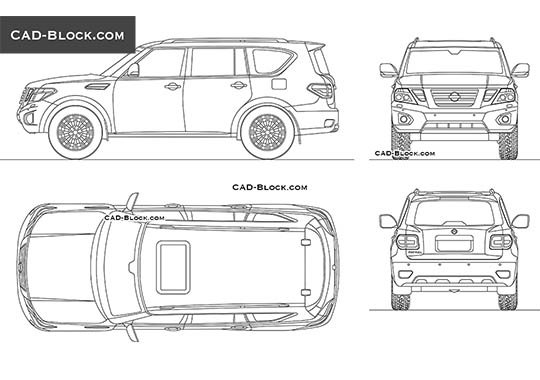 Nissan Terra Drawing