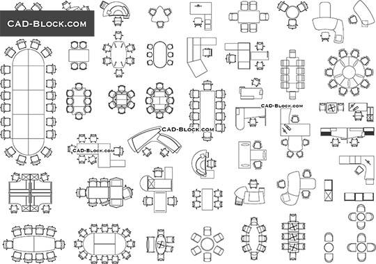 Furniture CAD blocks free download