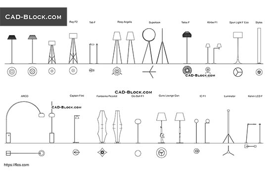Electric symbols CAD library, AutoCAD drawing in DWG