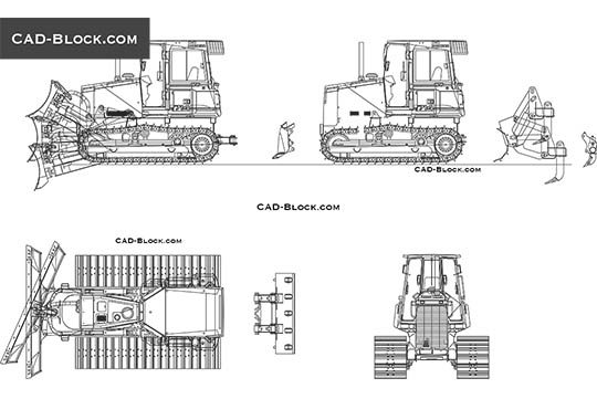 Construction equipment CAD Blocks, drawings download