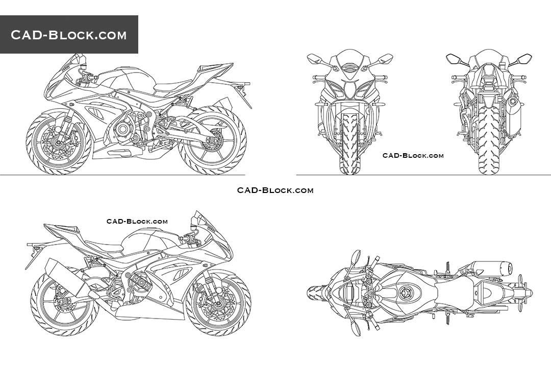 Suzuki GSX-R 1000 CAD model