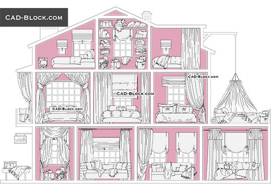 Living Room Furniture Cad Blocks Free