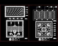 Parquet floor gallery Free download AutoCAD Blocks