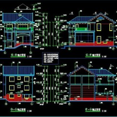 3 Tier Internet Architecture Diagram Single Phase Motor Capacitor Wiring Three-tier Villa Building Plans Free Download Autocad Blocks --cad.3dmodelfree.com