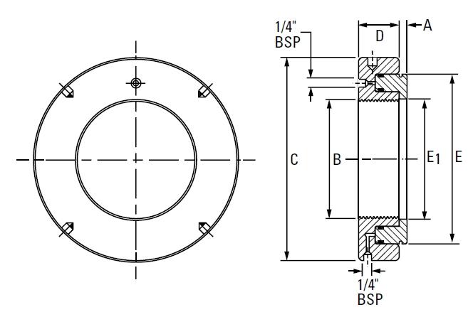 Metric HMV Hydraulic Nut On The Timken Company