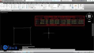 Como Generar un Cuadro de Construcción en CivilCAD