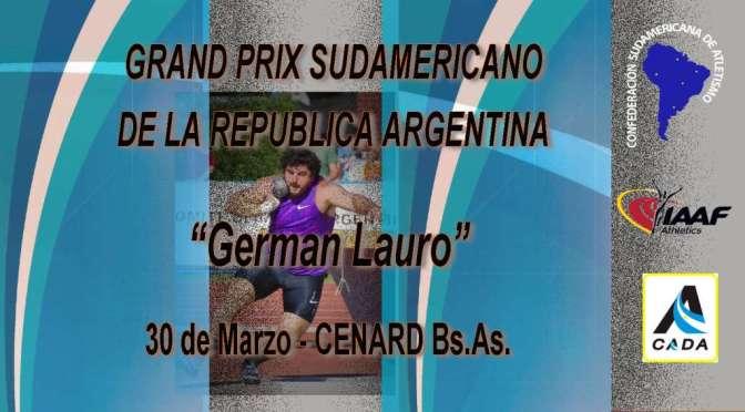 "Grand Prix ""GERMAN LAURO"""