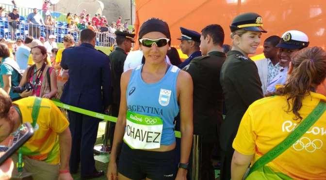 Representante olímpica en Maratón en Río de Janeiro 2016.
