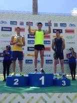 El podio de garrocha en Rio