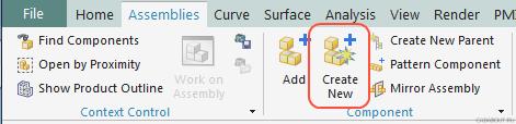 'Create New' Button