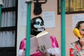 """Lectura dramatizada en el CADAC, """"Sábados al Azar"""". (Anahí Medrano) 2012"""