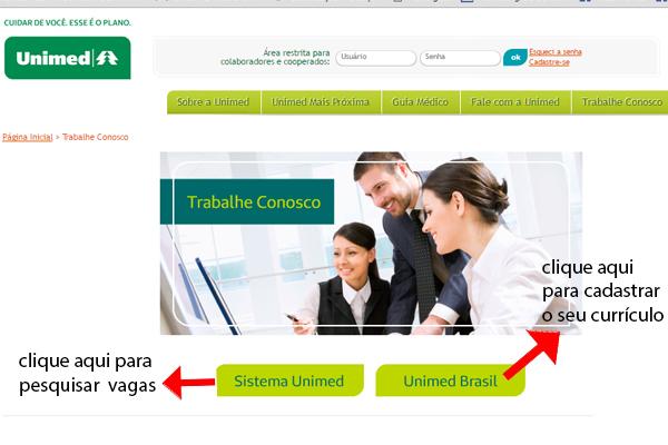 Unimed divulga lista de empregos para contratação imediata -salário + benefícios