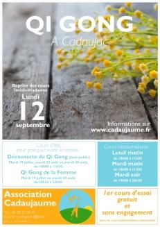 Cours de Qi Gong 2016-2017