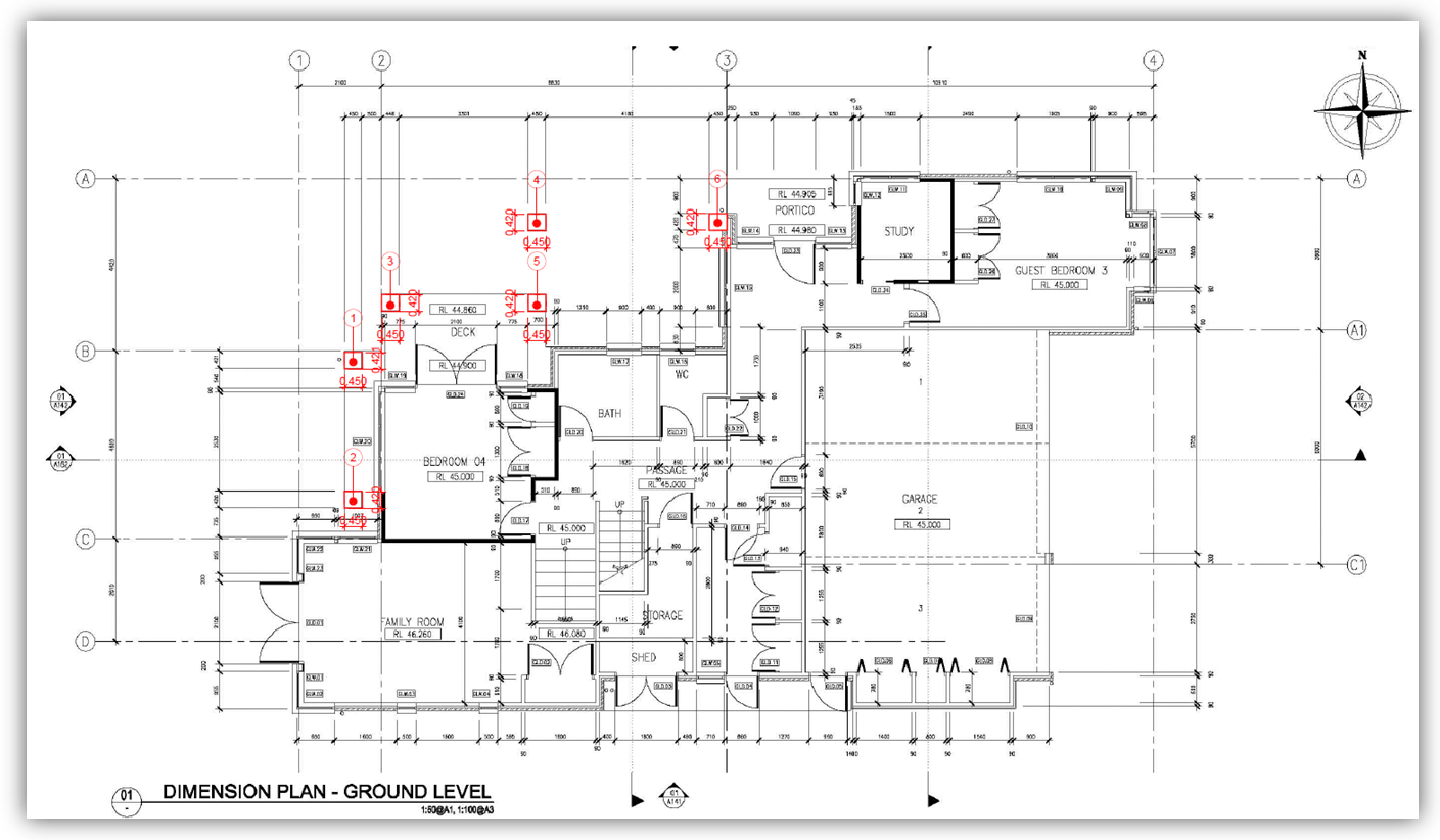 Cad, 3D & BIM Drafting Outsourcing Services Quantities