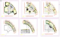 5 Star Circular Hotel Design Plan