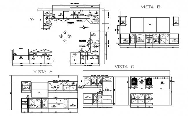 Kitchen Furniture detail