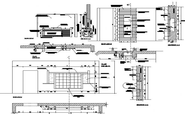 T.V Unit Furniture Detail