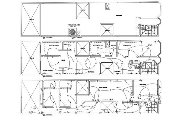 Conduit Expansion Connection AutoCAD Drawing Free DWG File