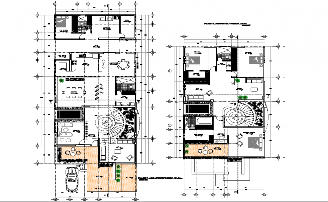 Architecture view of floor plan with roof area of house