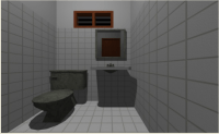Bathroom elevation design dwg file