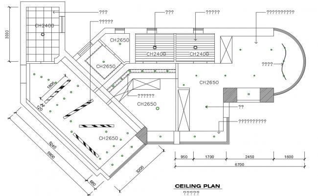 Ceiling plan details of bedroom cad drawing details dwg file