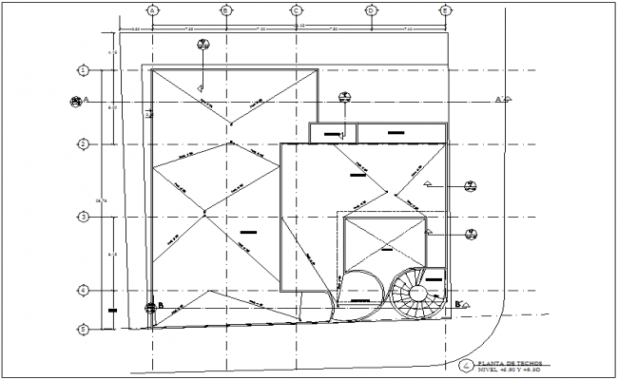 architectural ceiling plan