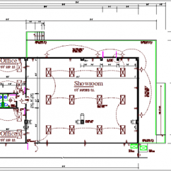 Electrical Building Wiring Diagram Mg Midget 1500 Plan In Schematic Commercial Layout Details Dwg File Maps