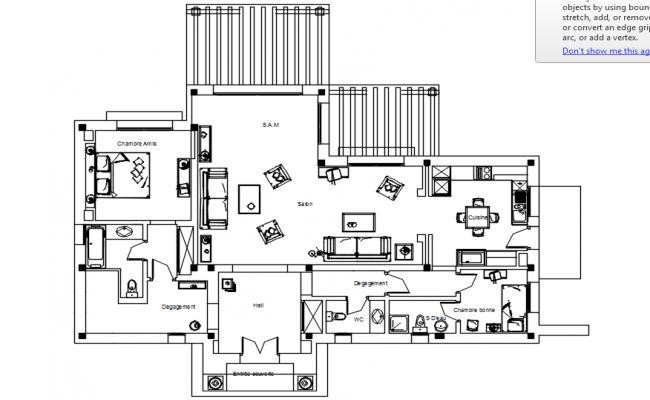 3d model of House farming detail elevation Sketch-up file