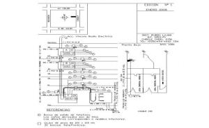Electrical circuit diagram detail CAD block layout file in