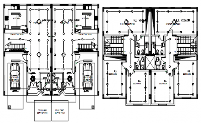Guard house & pump room wiring plan