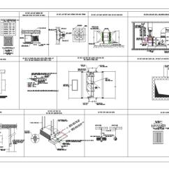 Split Ac Wiring Diagram Hd 2000 Celica Gts Radio Fan Door Dwg & Sc 1 St Cadbull