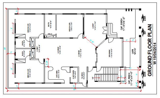 Floor Plan Of A Hotel Dwg File
