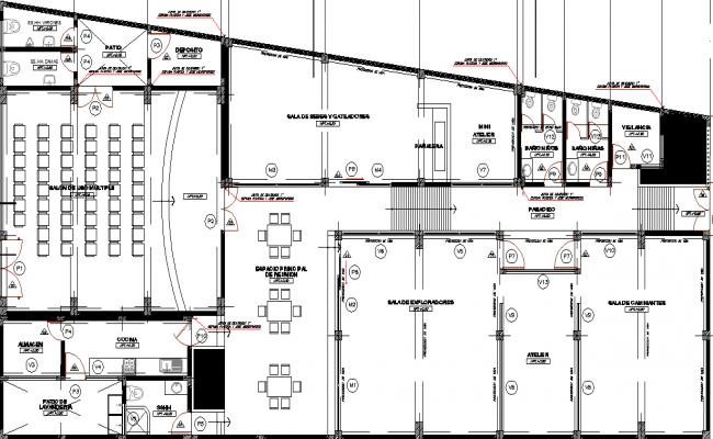electrical plan dwg file
