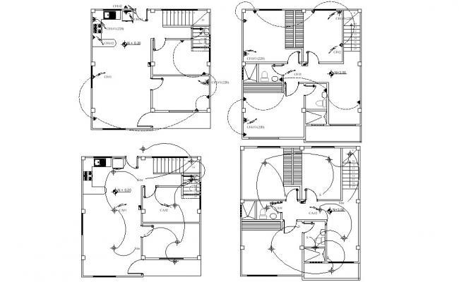 Best 2d Cad File Electrical Distribution Board Design