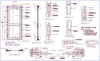 Door Detail Section & Complete 2d Door Detail With Plan ...