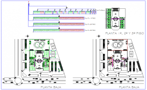 Wiring diagram of hotel