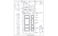 Door Detail & Curtain Wall Door Plan Detail Integralbook ...