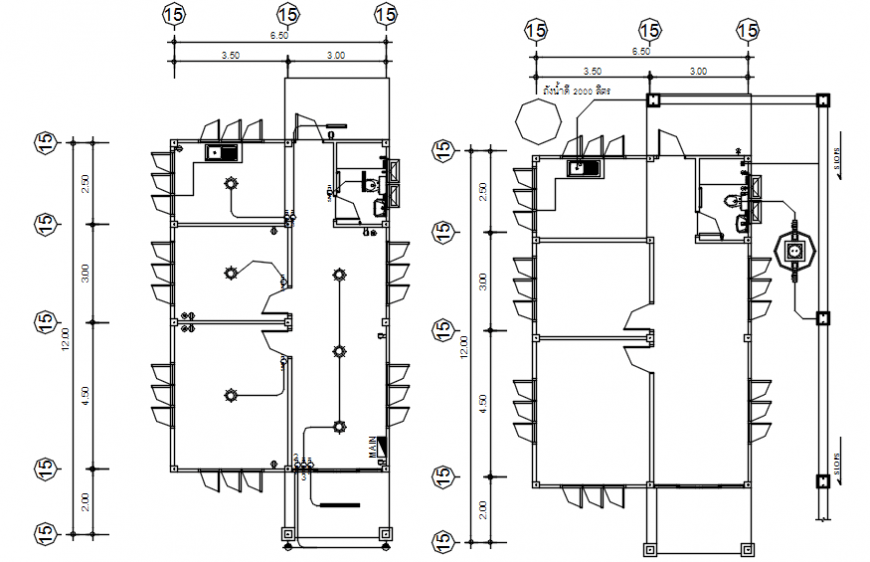 Basement floor electrical layout plan details of house pdf