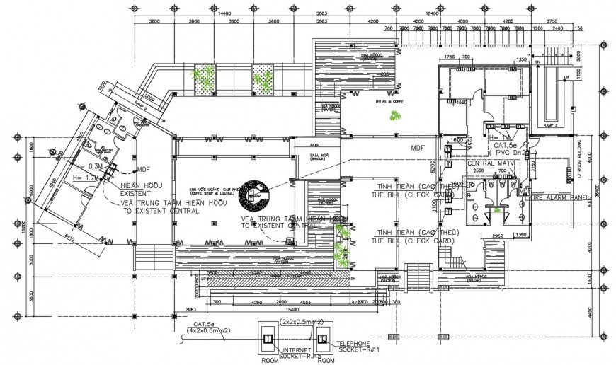 Street light pole plan and installation details dwg file