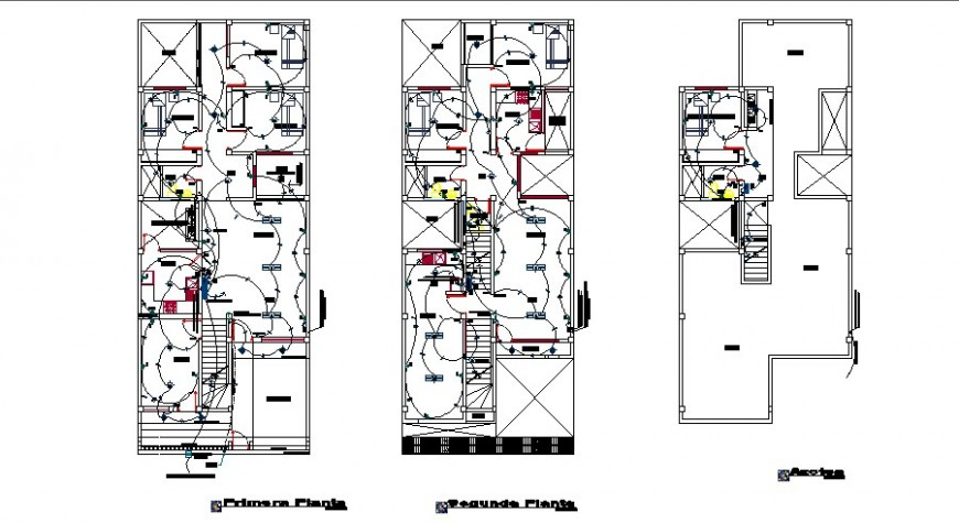 Home Wiring Plan Download CAD Drawing