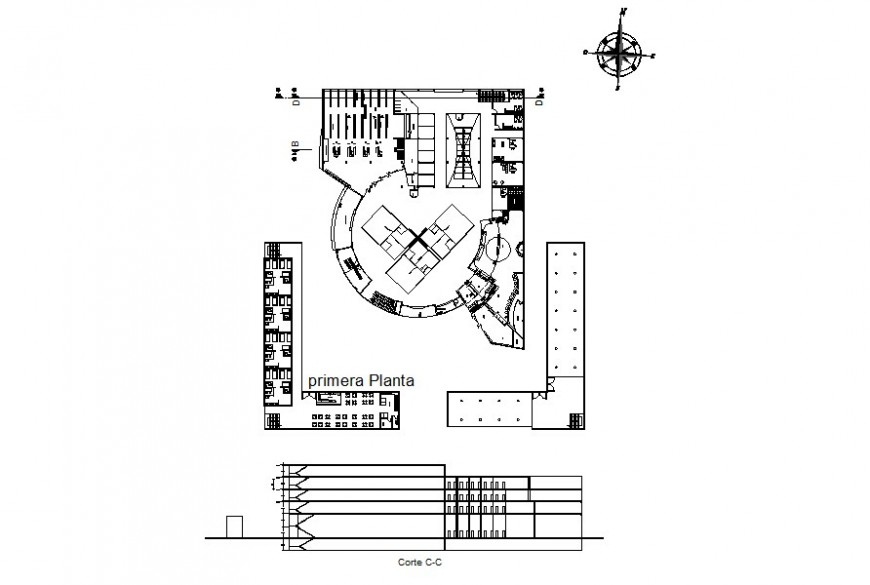 2d cad drawing of commercial electrical auto cad software