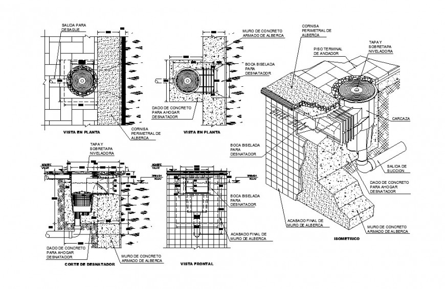 Inspection opening Design of Hydro Power Plant Structure