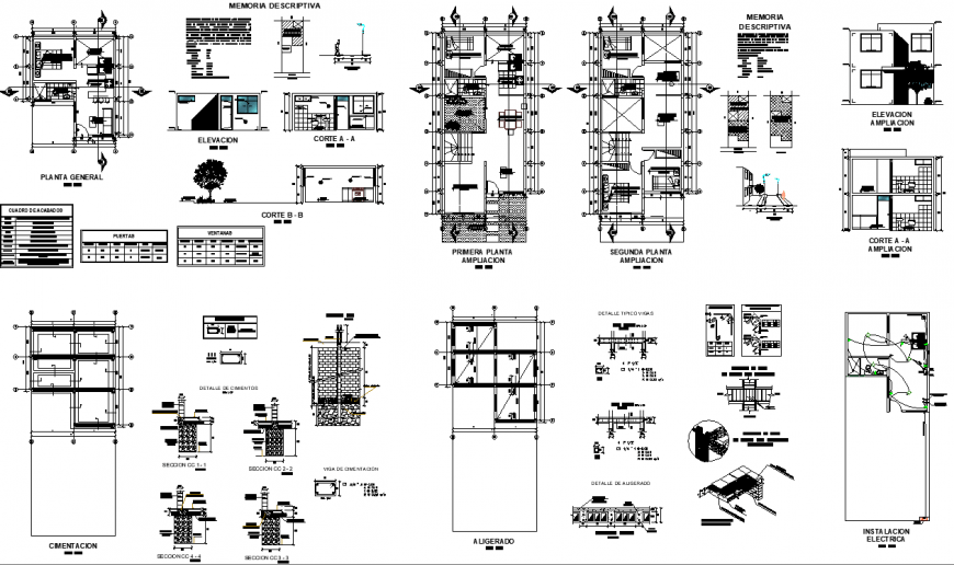 Floor plan of generator house 8.10mtr x 7.04mtr with