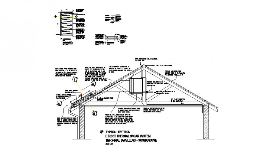 2D CAD Drawing Commercial Building Floor With Electrical
